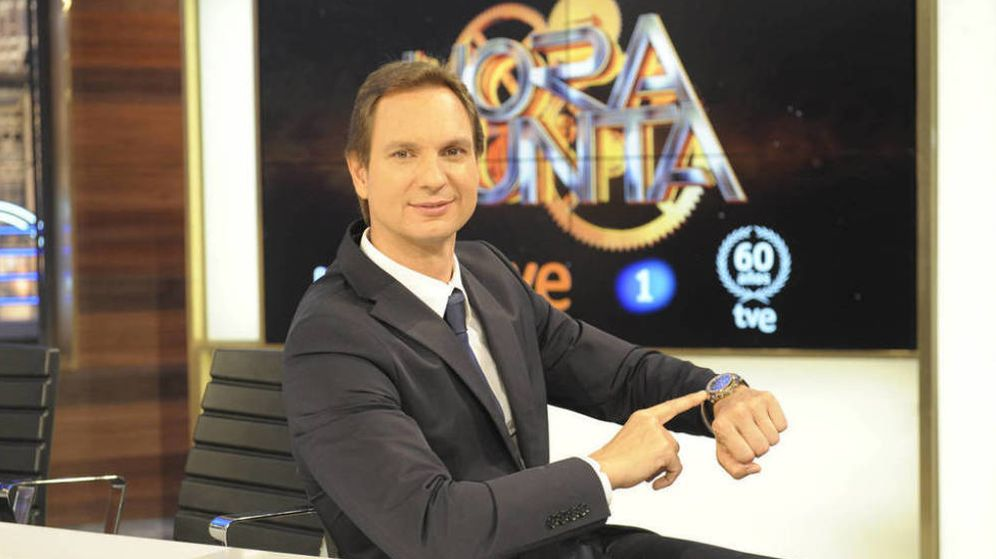 Foto: Javier Cárdenas en 'Hora punta'.
