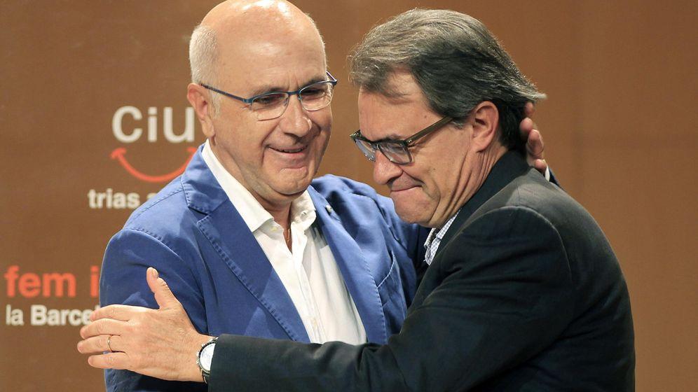 Foto: El presidente catalán, Artur Mas y el líder de UDC, Josep Antoni Duran Lleida. (Efe)