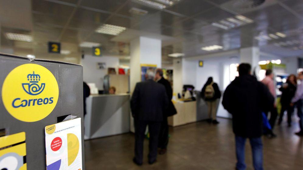 Foto: Una oficina de Correos de Madrid. (EFE)