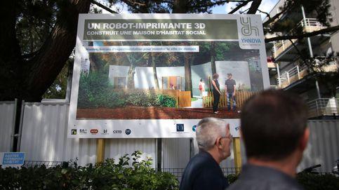 Una vivienda de protección social construida en unos días gracias a una impresora 3D