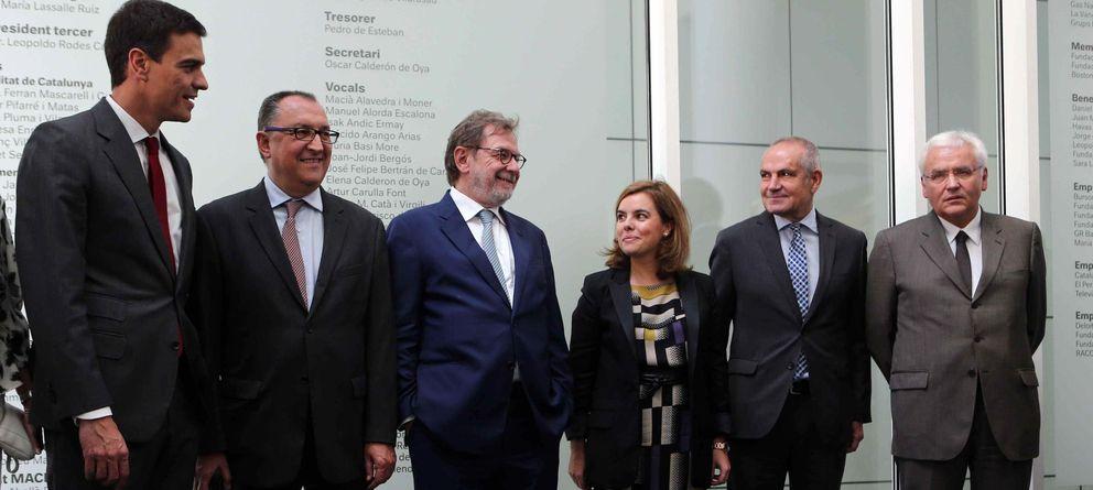 Foto: Presentación de la edición web en catalán de 'El País'. (EFE)