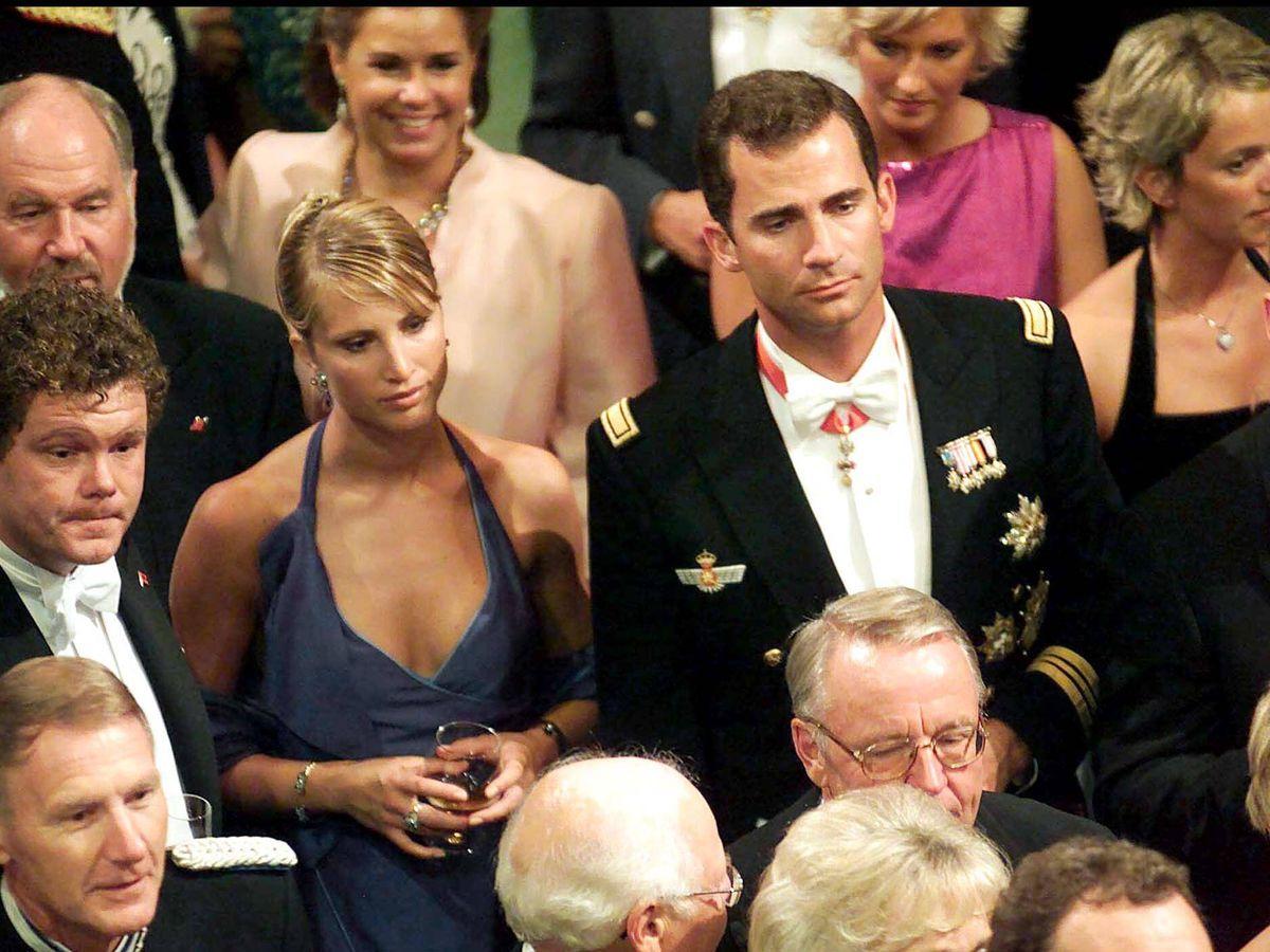 Foto: El entonces príncipe Felipe con Eva Sannum. (Gtres)