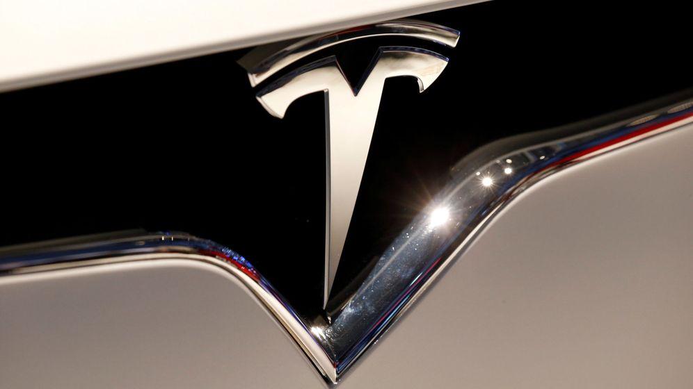 Foto: El logo de Tesla. (Reuters)