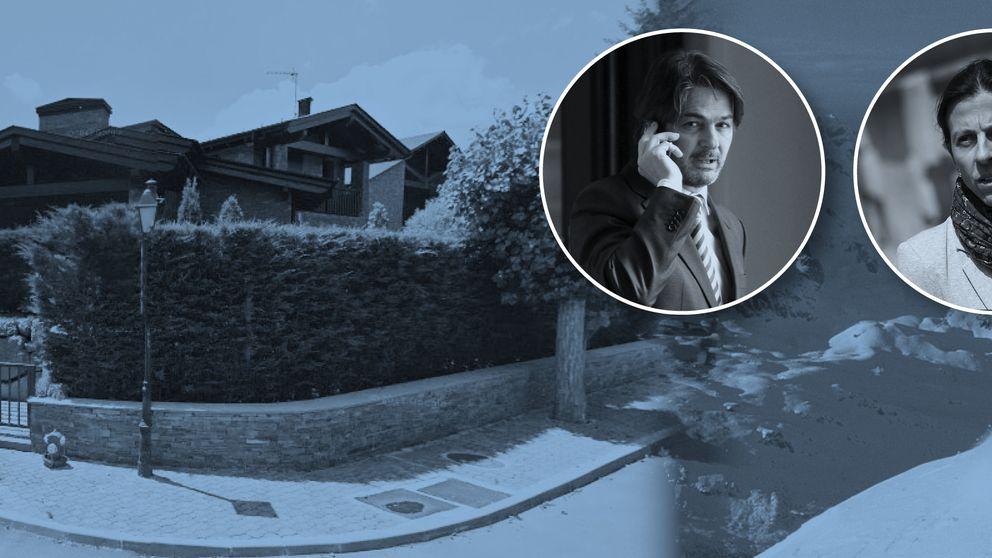 Los fines de semana 'extremos' de Oriol Pujol en su casa de la Cerdaña