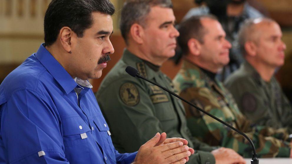 Maduro da por derrotada la escaramuza golpista y pide a militares lealtad absoluta