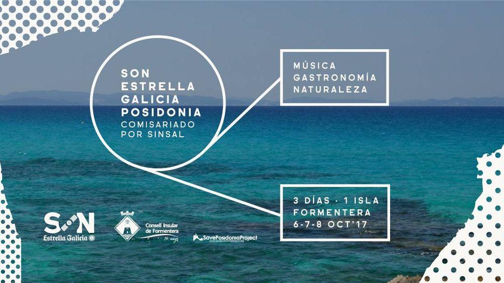 Foto: Cartel promocional del Son Estrella Galicia Posidonia