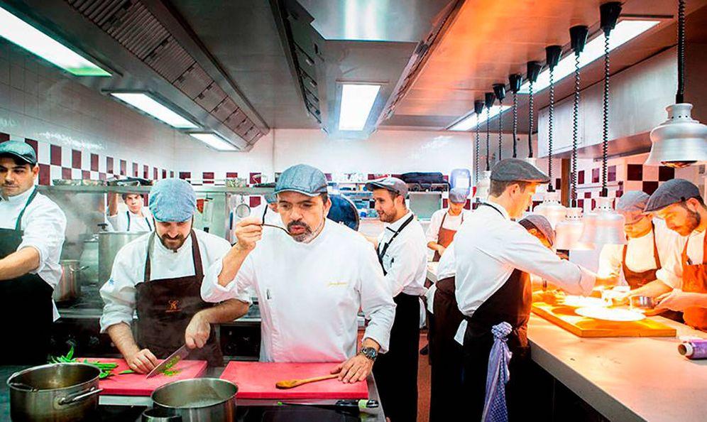 Foto: Imagen del restaurante reconocido por la Guía. (Cenador de Amós)