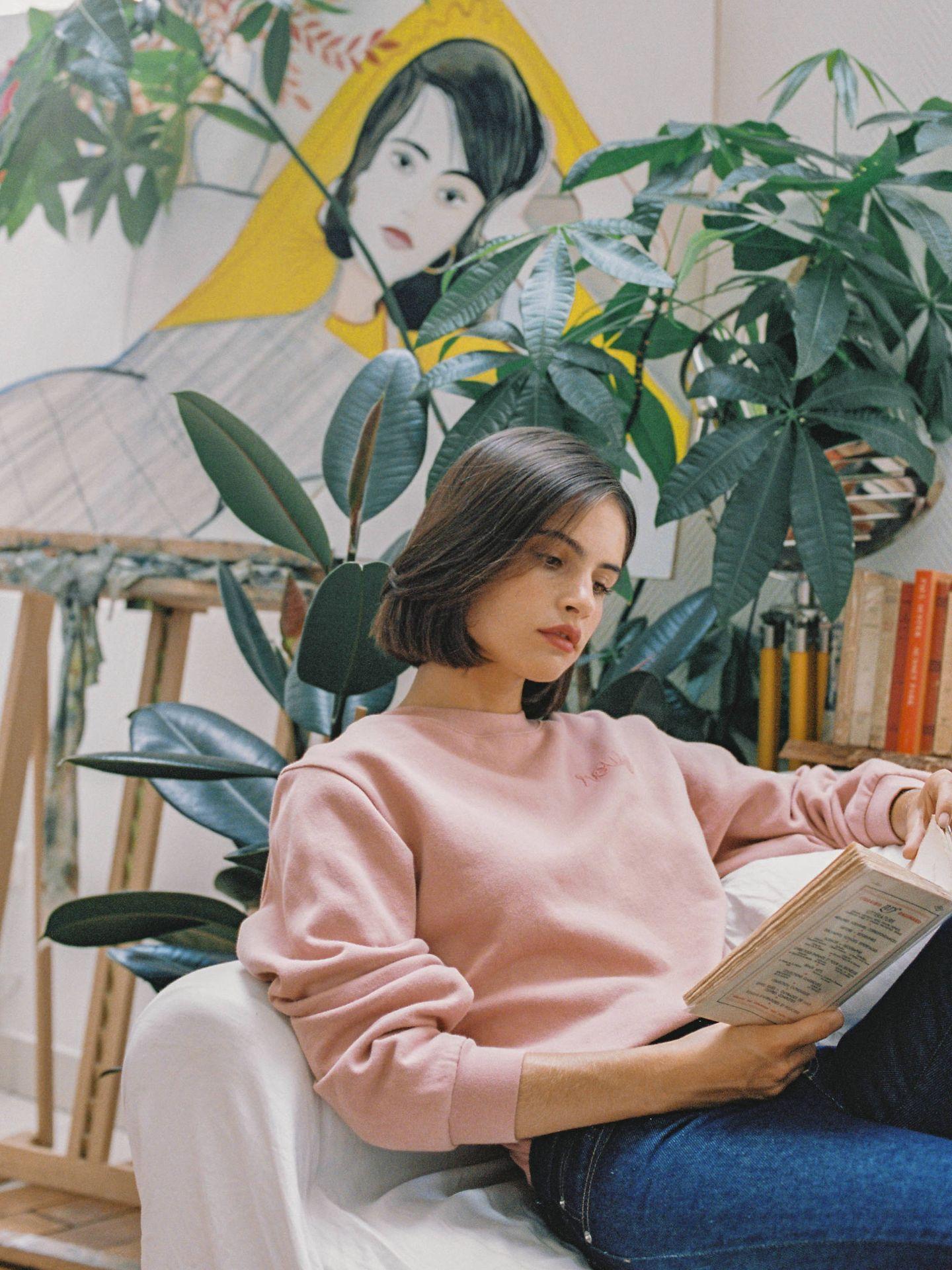 La sudadera es una de las protagonistas de la colección otoño-invierno 2018 de Rouje. (Cortesía)