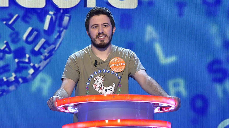 Orestes Barbero, el gran rival de Jero en 'Pasapalabra'. (Mediaset)