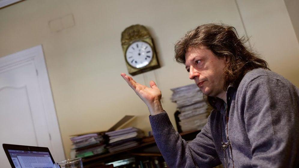 Foto: El abogado Javier de la Cueva. (Fotografías: Enrique Villarino).