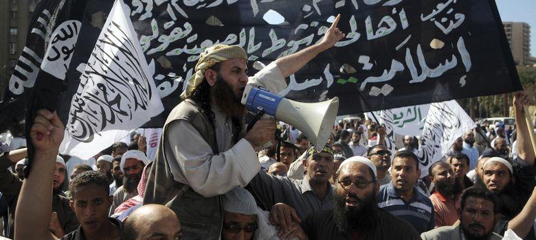 Foto: Salafistas egipcios se manifiestan en la plaza Tahrir de El Cairo en una imagen de archivo. (Reuters)