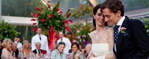 El presidente de las eléctricas, Eduardo Montes, animador en la boda de su hija