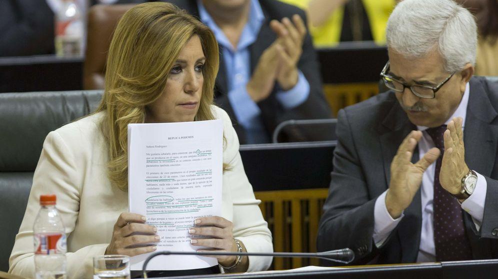 Foto: La presidenta de la Junta de Andalucía en funciones, Susana Díaz. (EFE)