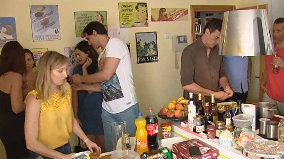 Basket y comida con amigos: así vive Pedro Sánchez la víspera del 26-J