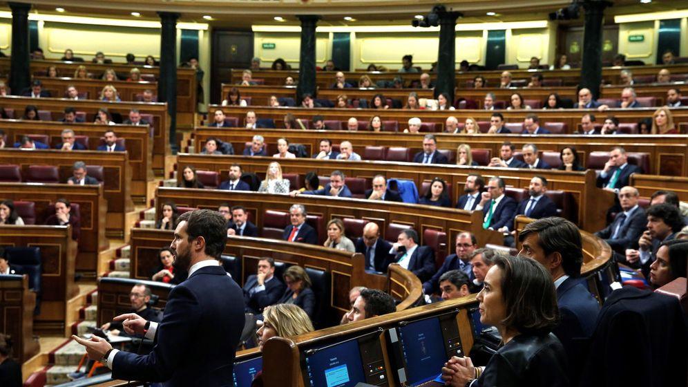 Foto: El Congreso de los Diputados, durante la sesión constitutiva de este martes. (EFE)