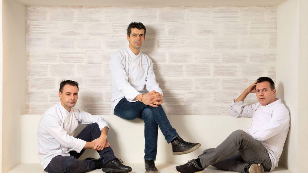 Foto: Eduard Xatruch, Mateu Casañas y Oriol Castro. ( @Joan Valera)