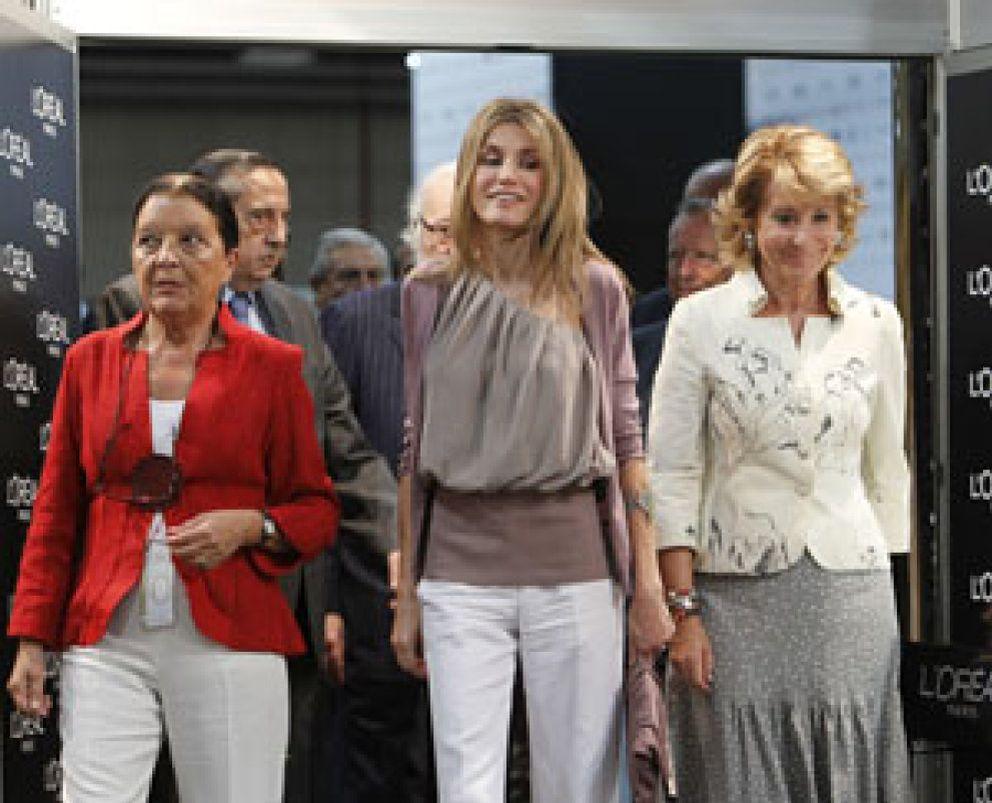 Foto: Letizia se convierte en la embajadora de la moda en Cibeles