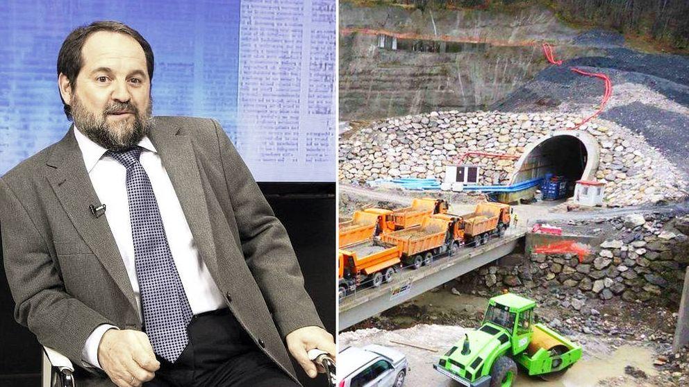 Adif fichó al principal geólogo de Asturias y es el mayor fan de la obra de Pajares
