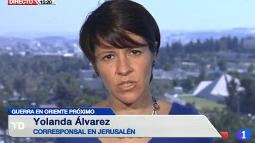 TVE releva a su corresponsal, señalada por la Embajada de Israel