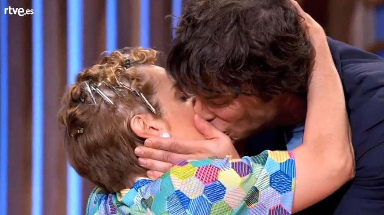 El juez y la concursante de 'MasterChef Celebrity' se demostraron el cariño que se profesan