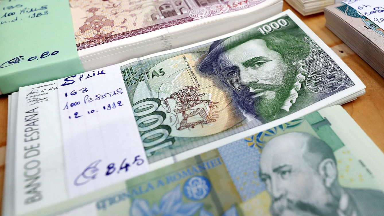 ¿Nostalgia o coleccionismo? Aún guardamos 1.614 M de euros en pesetas