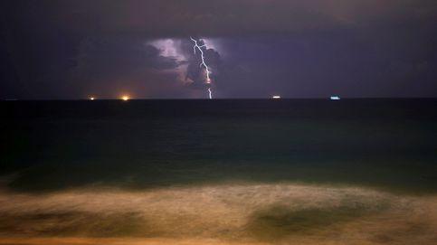 Intensas lluvias en Levante