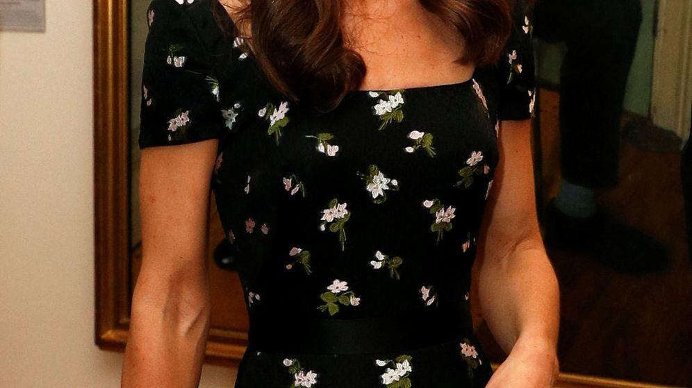 Foto: La duquesa de Cambridge en la gala de la National Portrait Gallery. (Reuters)