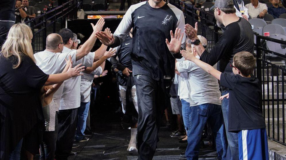 Foto: Pau Gasol no ha llegado a jugar ningún partido con los Portland Trail Blazers. (EFE)