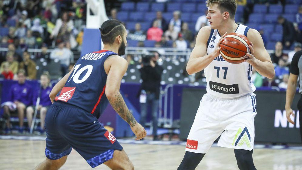Foto: Luka Doncic está jugando el EuroBasket con la selección de Eslovenia. (EFE)