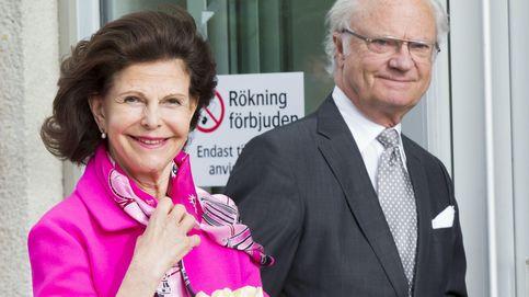 Carlos Gustavo y Silvia de Suecia acuden a conocer a su nuevo nieto