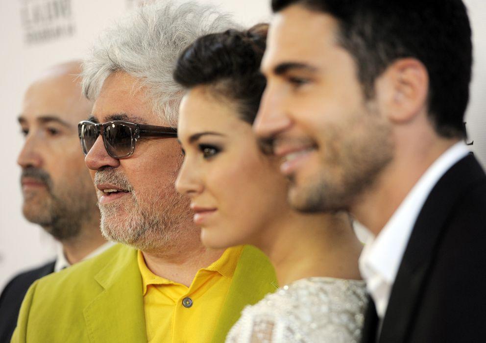 Foto: Pedro Almodovar, Blanca Suarez y Miguel Silvestre (Gtres)