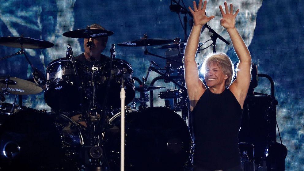 Bon Jovi se lo pasa en grande viendo 'Yesterday' en Madrid
