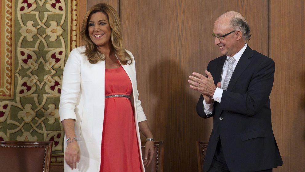 Susana Díaz se rebela contra Montoro por la financiación autonómica