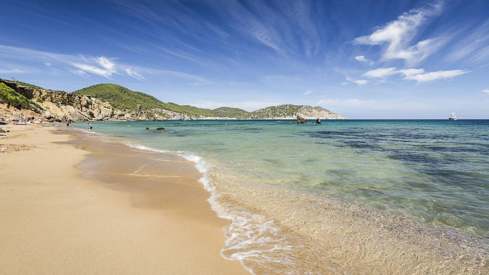 Foto: Es Figueral, esa playa. (Foto: Visit Santa Eulalia)