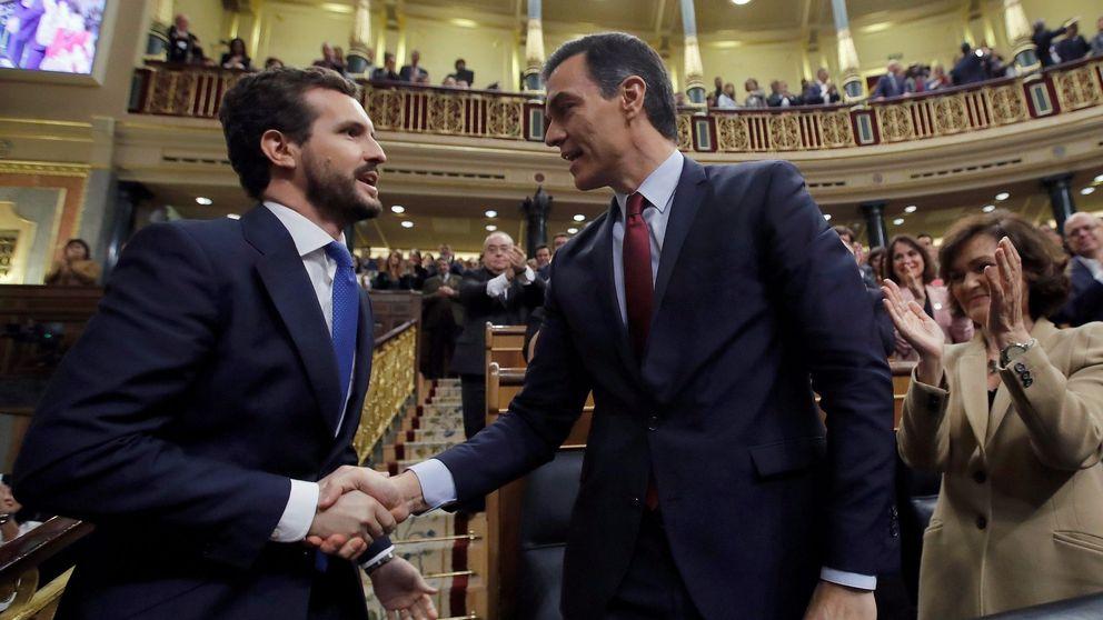 La renovación de órganos institucionales obliga a Sánchez a llamar a Casado