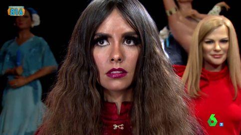 Cristina Pedroche se toma la revancha y asusta al público en el Museo de Cera
