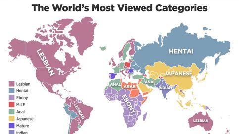 No, a España no le obsesionan las maduras: así se fabrican los mapas favoritos de internet