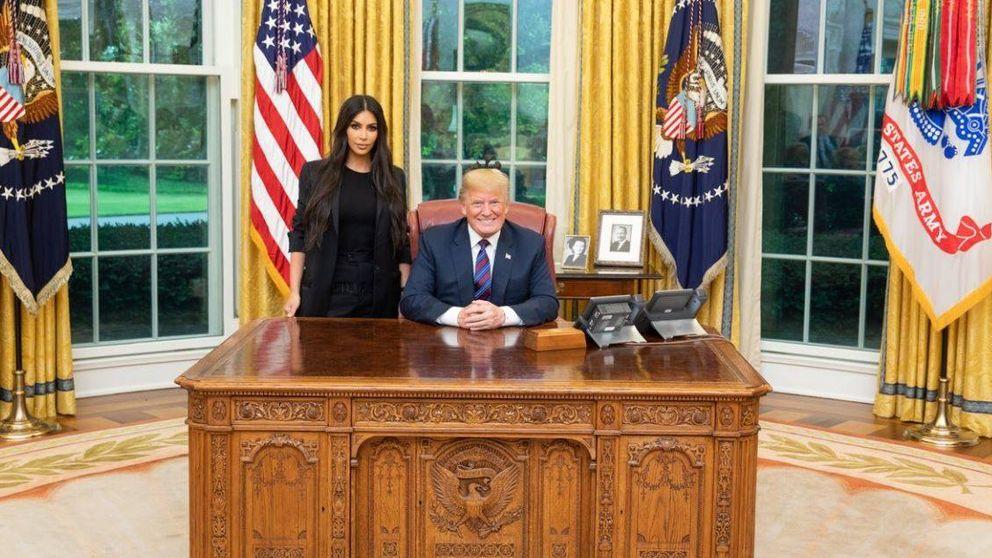 Kim Kardashian y Donald Trump: la reunión de las dos personas más famosas de EEUU