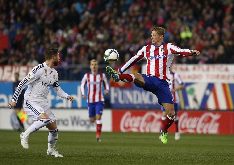 Foto: Ramos y Torres, durante el partido de ida en el Vicente Calderón (Reuters).