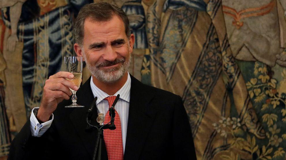 El fin de semana de Felipe VI: de fiesta universitaria en Washington sin Letizia