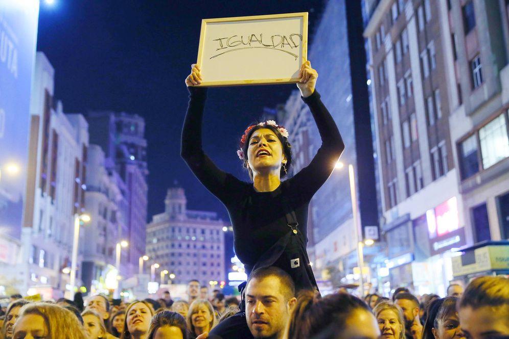 Foto: Manifestación del 8 de marzo de 2018. (EFE)