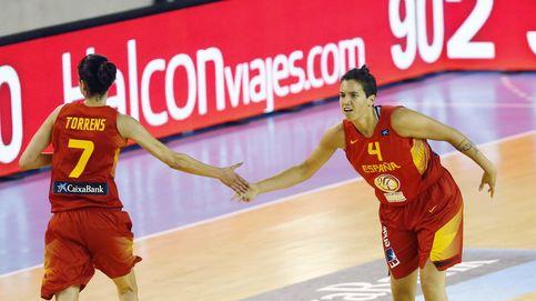 España aprende a sufrir con Serbia pero vuelve a brillar con Torrens y Nicholls
