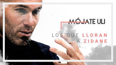 Zidane y Keylor Navas