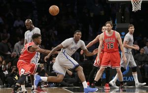 Gasol y Mirotic brillan en la victoria de los Bulls en Brooklyn