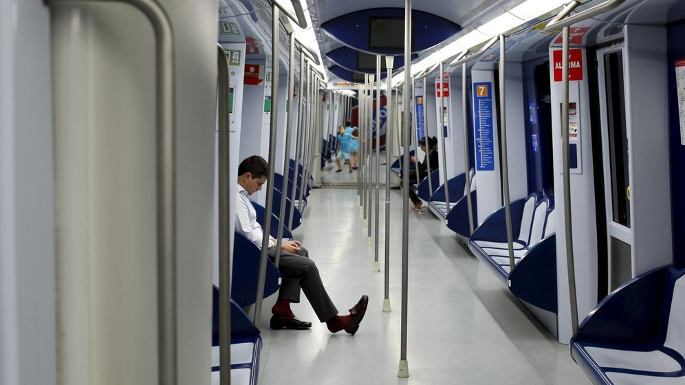 Foto: Metro de Madrid. (Reuters)