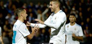 Post de A Ceballos llena el traje de Modric, pero el Real Madrid de los suplentes aburre