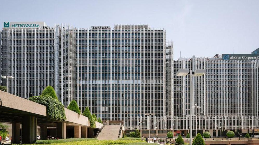 Foto: Edificio de Metrovacesa en Nuevos Ministerios.