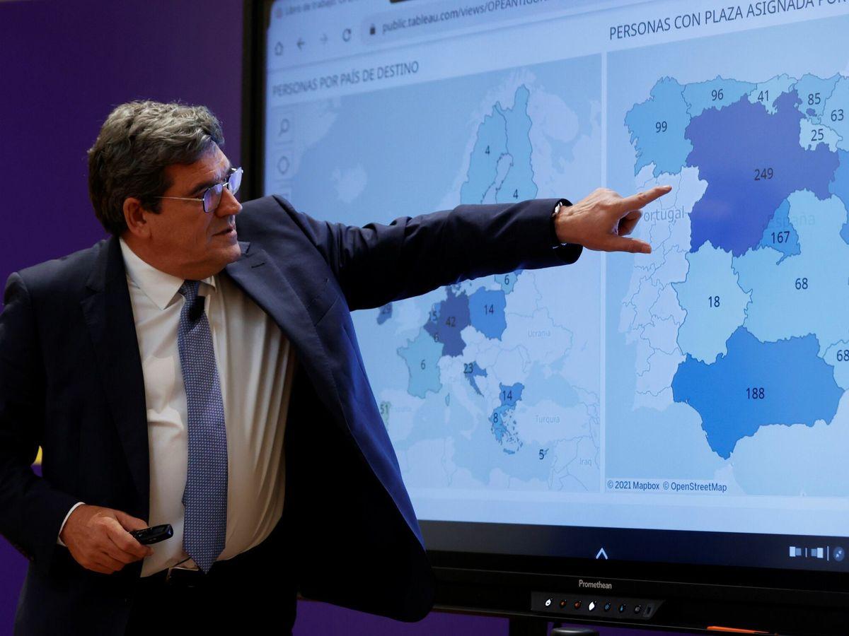 Foto: El ministro de la Seguridad Social, José Luis Escrivá. (EFE)