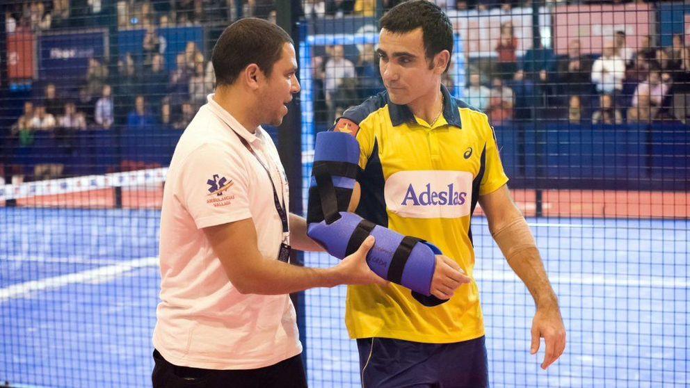 Grave lesión de Pablo Lima en las semifinales del Master Final