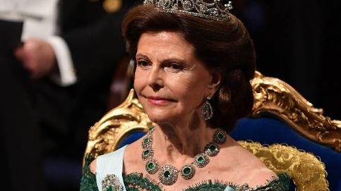 La reina Silvia de Suecia sufre un accidente tras una caída en el palacio de Drottningholm